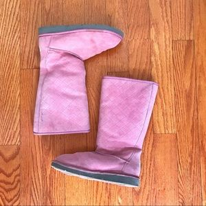 Tall Pink UGG boots